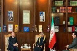 Iranian FM holds talks with Oman's bin Alawi, Afghan's Karzai