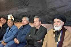 آیین سوگواری شهادت سپهبد شهید سلیمانی در لواسان برگزار شد