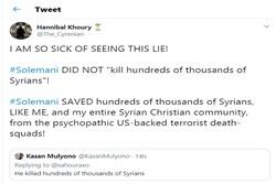 واکنش یک مسیحی سوری به فرافکنی درباره سردار سلیمانی