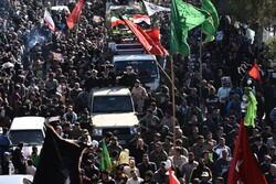 آبادان میں شہید ابو مہدی مہندس کی تشییع جنازہ