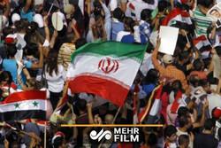 راهپیمایی مردم سوریه در حمایت از محور مقاومت