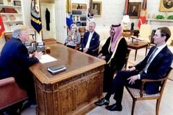 معاون وزیر دفاع عربستان با ترامپ دیدار کرد