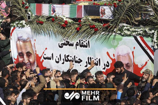 VIDEO: Historic funeral of Gen. Soleimani in hometown Kerman