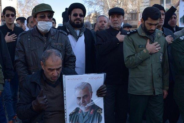 شاہرود کے عوام کی سپاہ کے شجاعانہ اقدام کی حمایت