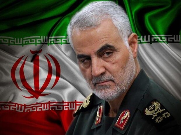"""""""I am proud of being with al-Nujaba"""": Martyr Soleimani"""