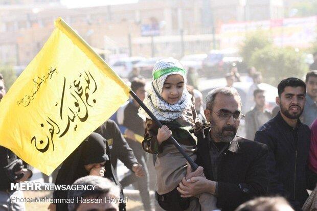 بدرقه پرشکوه شهید ابومهدی المهندس - آبادان
