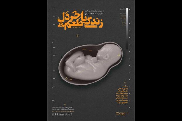 انتشار پوستر نمایش «زندگی با طعم خردل»