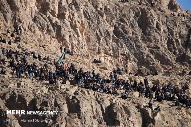 تشييع الشهيد سليماني في جبال كرمان