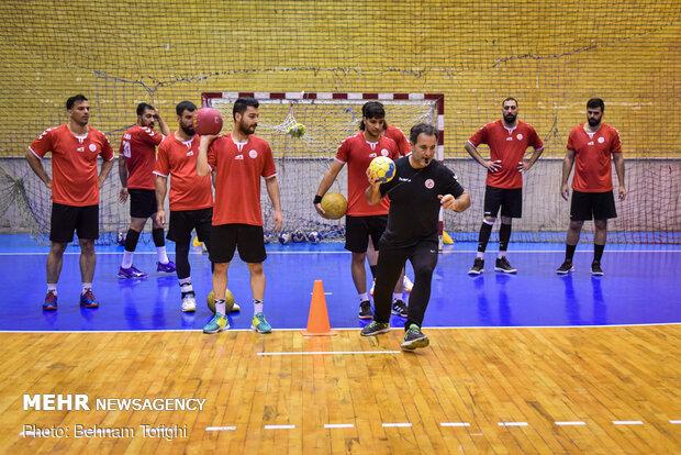 اردوی تیم ملی هندبال مردان