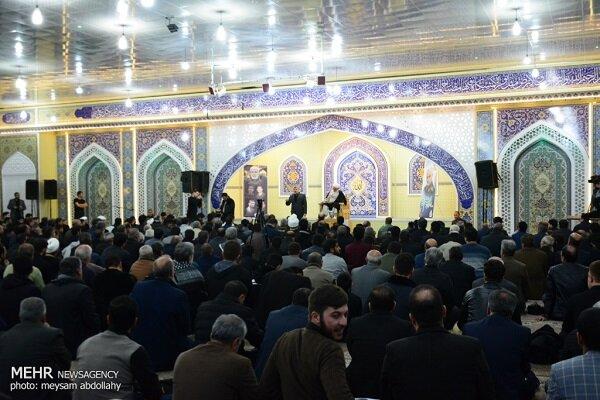 شام غریبان سردار دلها در کرمانشاه