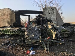 Ukraine Intl. Airlines plane crashes in Tehran after takeoff