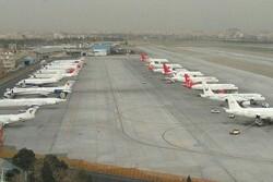 کاهش ۷۰ درصدی مسافر در فرودگاه مهرآباد به دلیل شیوع کرونا