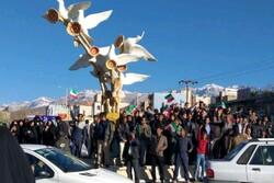 طنین فریاد الله اکبر در یاسوج/مردم به خیابانها آمدند