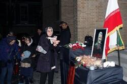 برگزاری مراسم شهادت سردار دلها حاج قسم سلیمانی در پکن