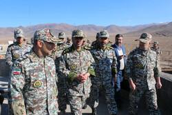 ارتياح القائد العام للقوات المسلحة، يدل الأداء الجيد للدفاع الجوي