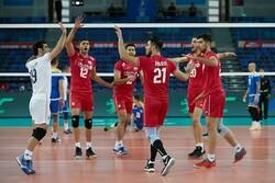 تیم ملی والیبال ایران در رده هشتم جهان باقی ماند