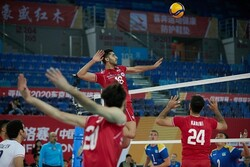 Iran volleyball gains second straight-sets win at Olympic qualification tournament