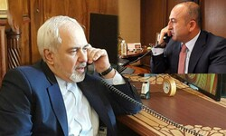 """الرد الإيراني على امريكا يتصدر مباحثات """"ظريف"""" و""""تشاووش اوغلو"""""""