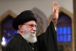 قائد الثورة الاسلامية يستقبل أبناء مدينة قم المقدسة