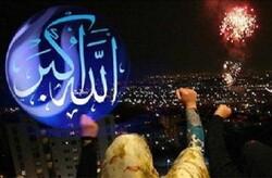 غریو بانگ «الله اکبر» آسمان استان سمنان را نورانی کرد