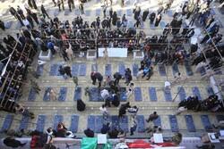 کرمان کے گلزار شہداء میں تاابد امریکہ مردہ باد کا نعرہ ثبت ہوگیا