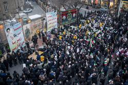 تبریز میں شہید قاسم سلیمانی کی یاد میں عوامی اجتماع