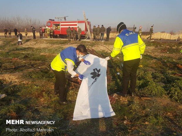 Ukraine Intl. Airlines plane crashes in Tehran after takeoff