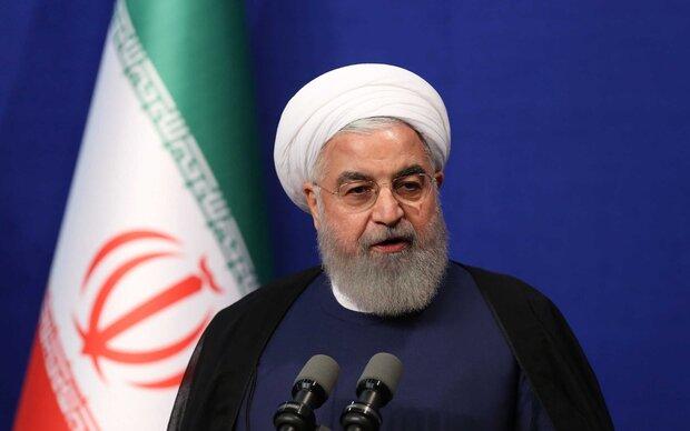 الرئيس روحاني سيتحدث للشعب عبر التلفزيون بعد الدقائق