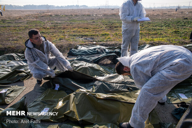 جان باختن ۳ گلستانی در حادثه سقوط هواپیمای اوکراینی