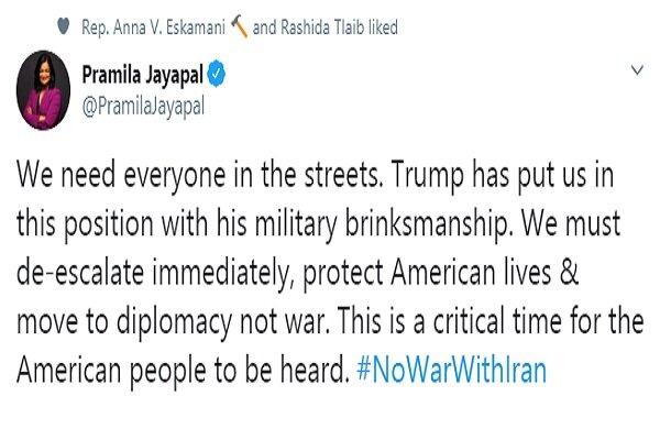 ترامپ با ماجراجویی نظامی آمریکا را در معرض خطر قرار داده است