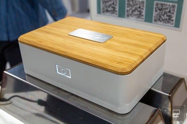 ظرف غذای قابل شارژ برای گرم نگهداشتن غذا
