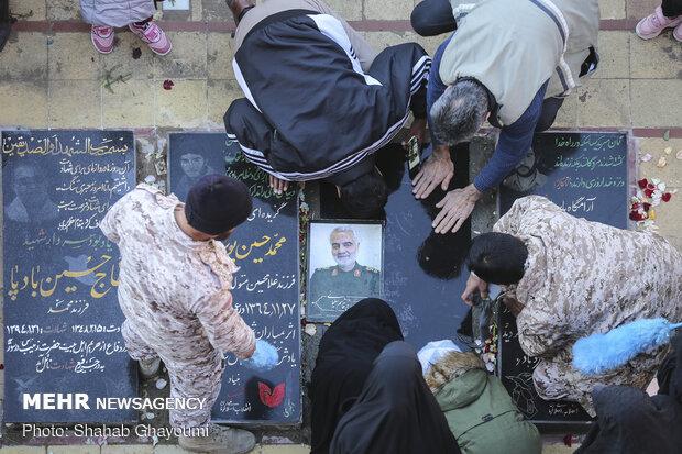 زیارت مزار سردار پرافتخار سپاه اسلام