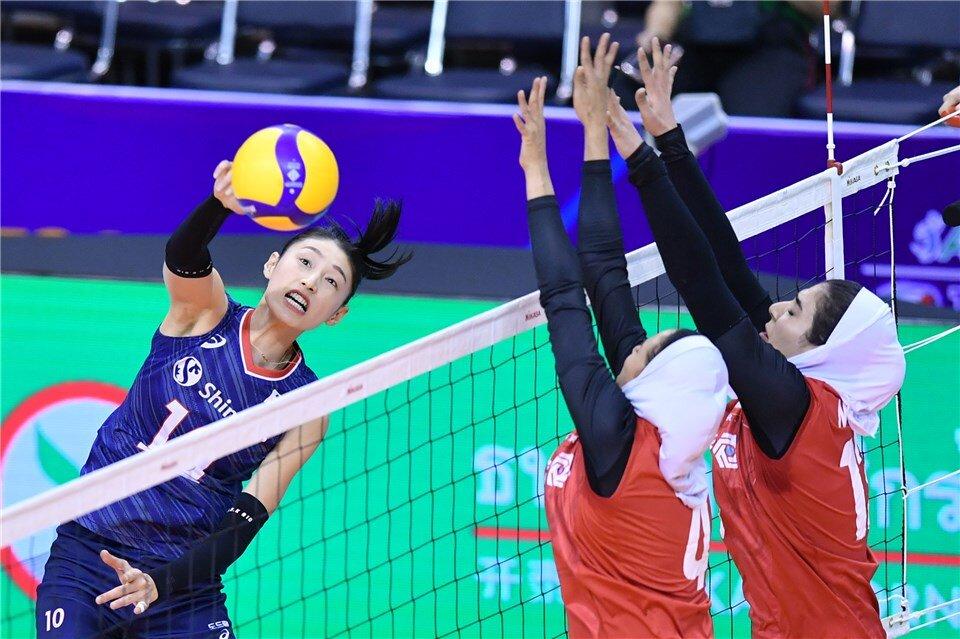 Korea Beat Iran S Women Volleyball At Olympics Qualification Tehran Times