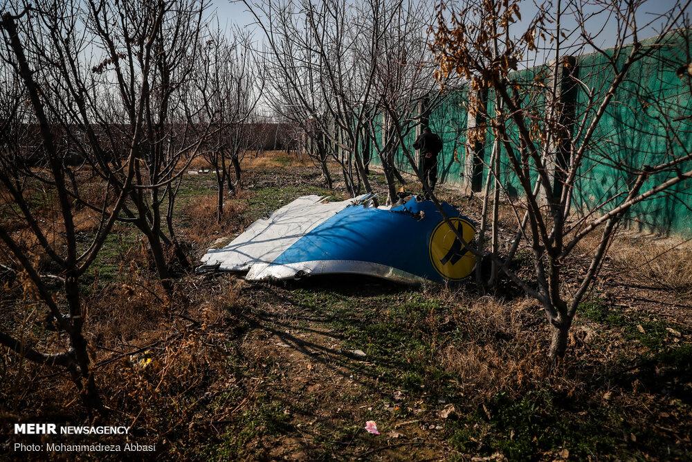 جزئیات جدید از پرونده سانحه سقوط هواپیمای اوکراینی
