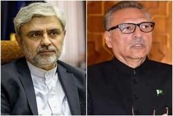New Iranian ambassador submits credentials to Pakistan's Alvi