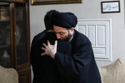 عمار الحكيم يزور منزل الشهيد الفريق سليماني