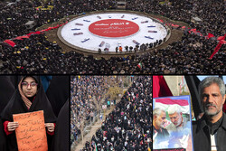 هفتمین روز فراق سردار در جایجای ایران/ سلیمانیها گرد هم آمدند