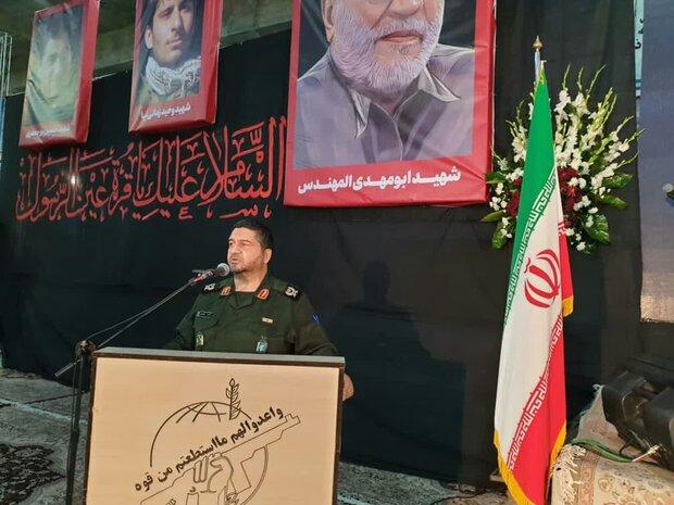 حفظ تمامیت ارضی سوریه مدیون مجاهدت های شهید قاسم سلیمانی است