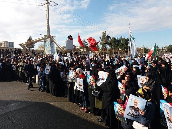 گرامیداشت یاد و خاطره سیدالشهدای مقاومت در کرمانشاه