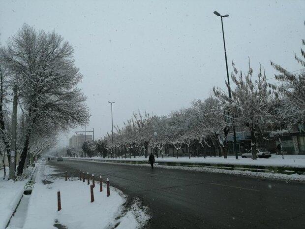 بارش ۲۵ سانتیمتر برف در سمیرم/بارشها تا ظهر فردا ادامه دارد