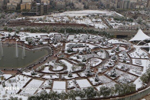 Snowy Tehran