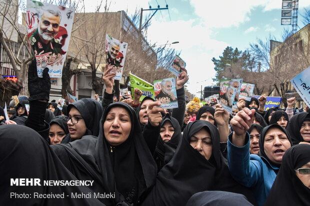 برگزاری راهپیمایی دفاع از آرمانهای انقلاب در ۲۵ نقطه استان بوشهر