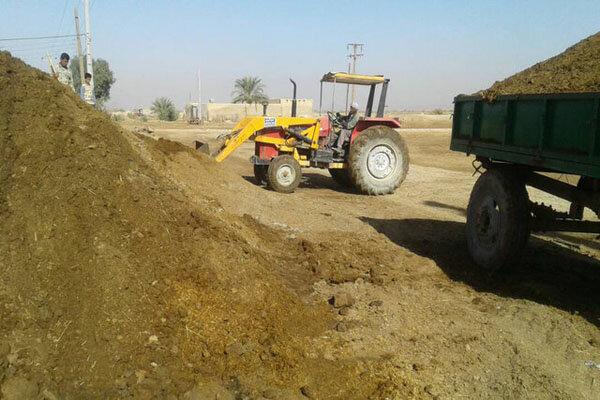 جمع آوری فضولات حیوانی از ۳۹ روستای اشترینان/ ۶۵۲سطل زباله نصب شد