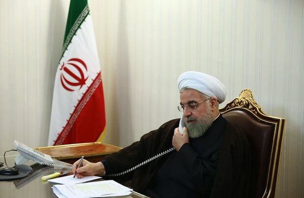 Iran to stand by EU's independent positions from US: Rouhani