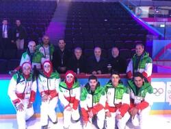 دیدار صالحیامیری و سلطانیفر با نمایندگان ایران در المپیک زمستانی