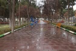 رکورد بارش نزولات جوی کاشان در آبان ماه شکسته شد