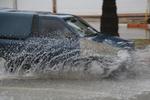 آبگرفتگی بر اثر بارندگی شدید در قم