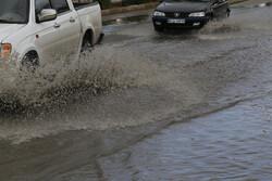 خسارت بارندگی شدید در جنوب استان بوشهر/ ریزش کوه در برخی مسیرها