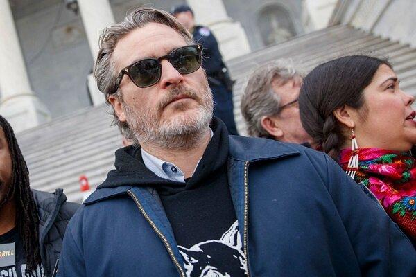 «جوکر» دستگیر شد/ بازداشت خواکین فینیکس در اعتراض به گرمایش زمین