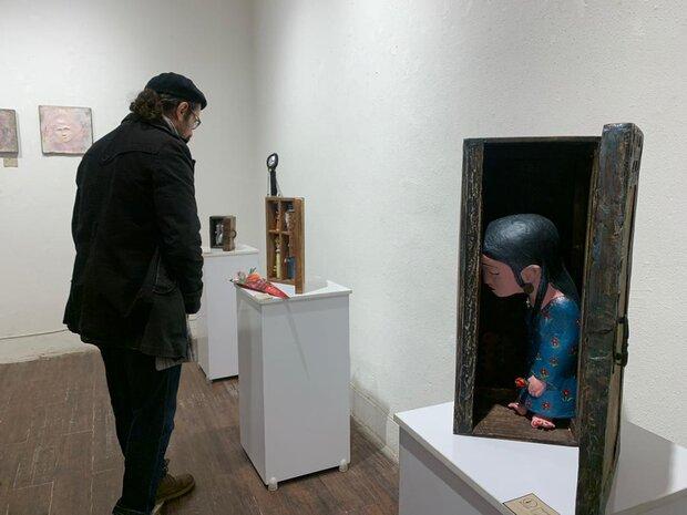 نمایشگاه حجم «من- ظل» آغاز بکار کرد